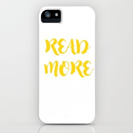 READ MORE.  iPhone Case