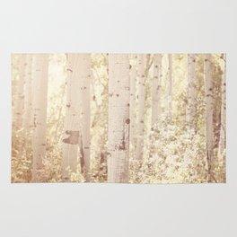 Dreamy Aspen Forest Rug