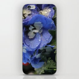 Delphinium Blue iPhone Skin