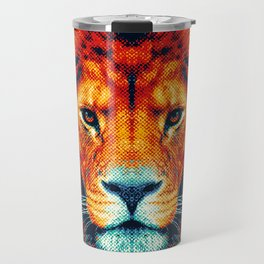 Lion - Colorful Animals Travel Mug