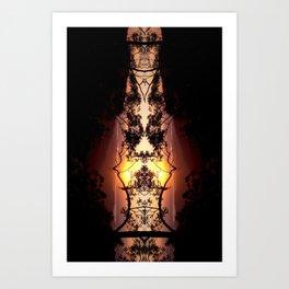 Marmalade Skies Art Print