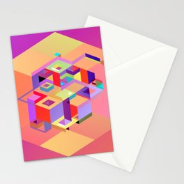 Cubic Inversion I Stationery Cards