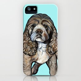 Lego the Cocker Spaniel iPhone Case