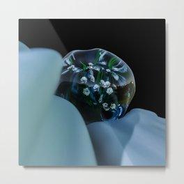 Plant Bubble Metal Print