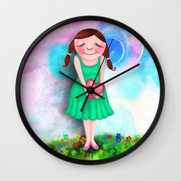 Lovable Wall Clock
