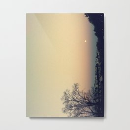 Sunset at SUNY Purchase Metal Print