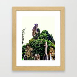 Athlumney Ruins Framed Art Print