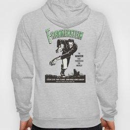 Frankenstein Vintage 1931 Movie Poster, Original Gift Idea, Boris Karloff, Bela Lugosi, Dracula Hoody