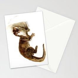 Totem otter: Amblonyx cinerea Stationery Cards