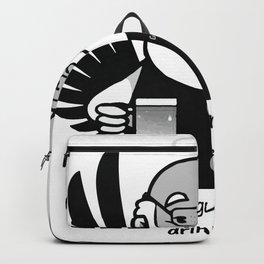 My guardian angel drinks Backpack