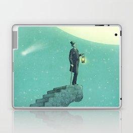 Moon Steps Laptop & iPad Skin