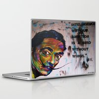 salvador dali Laptop & iPad Skins featuring Salvador Dali by Ruby Chavez