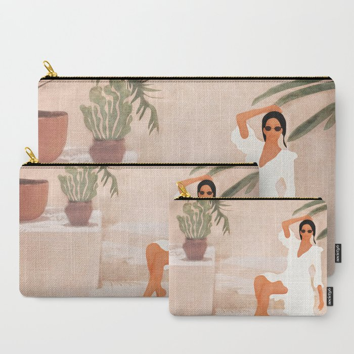 Graceful_Resting_II_CarryAll_Pouch_by_City_Art__Set_of_3