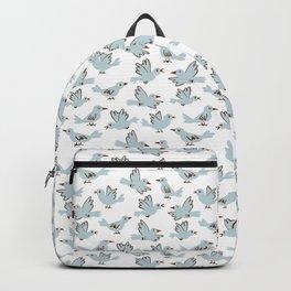 Birds Pattern Backpack