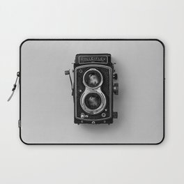 Old Camera (Black and White) Laptop Sleeve
