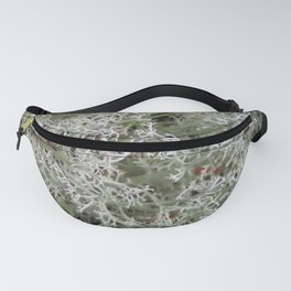 White Moss Fanny Pack