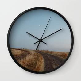 Summertime Road Wall Clock