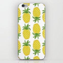 Pineapple Topsy Turvy iPhone Skin