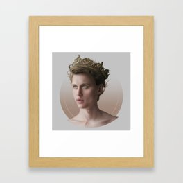 KING OF MY HEART Framed Art Print