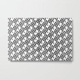 2706 Today's grey pattern ... Metal Print