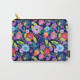 Summer Blooms Illustration Carry-All Pouch