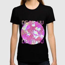 Vaporwave Japanese 1980s Aesthetic Deja Vu Text T Shirt T-shirt
