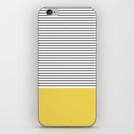 MINIMAL Green Stripes iPhone Skin