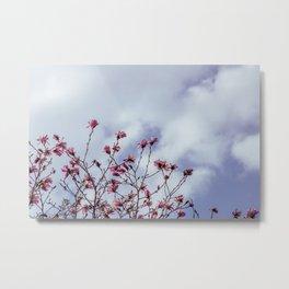 Flowers in the sky Metal Print