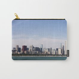 Chicago Skyline Day Photography Carry-All Pouch