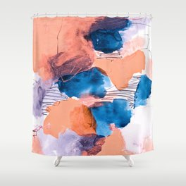 abstract painting XIX Shower Curtain