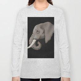 Elephant Ivory Long Sleeve T-shirt