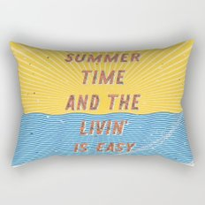 Summertime - A Hell Songbook Edition Rectangular Pillow