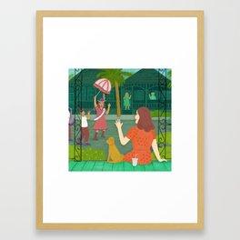 Jami Square Framed Art Print