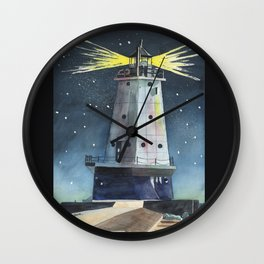 Ludington Light Wall Clock