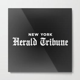 New York Herald Tribune Metal Print