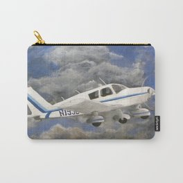 Soaring, Piper Cherokee Airplane Carry-All Pouch