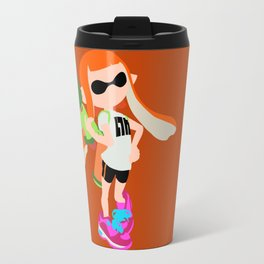 Inkling Girl (Orange) - Splatoon Travel Mug