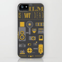 Film is not dead  iPhone Case
