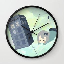 tardis sky Wall Clock