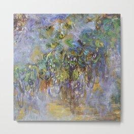 "Claude Monet ""Wisteria"", 1919-1920 Metal Print"