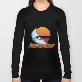 Summertime Moonman Notorious Long Sleeve T-shirt