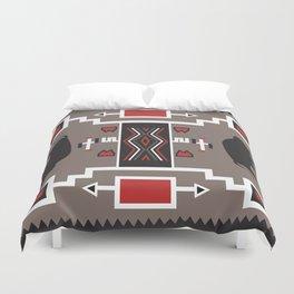 American Native Pattern No. 161 Duvet Cover