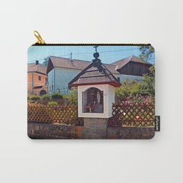 Wayside shrine in summertime | architectural photography Carry-All Pouch