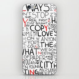 Always in my Heart iPhone Skin