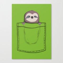 My Sleepy Pet Canvas Print