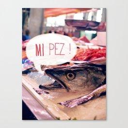 · Mi Pez · Canvas Print