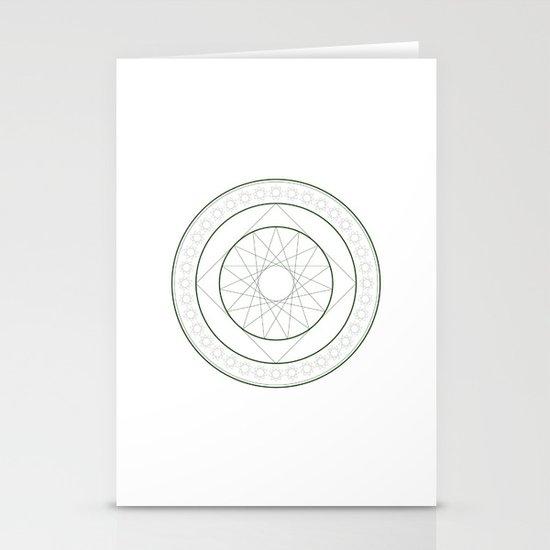 Anime Magic Circle 4 Stationery Cards
