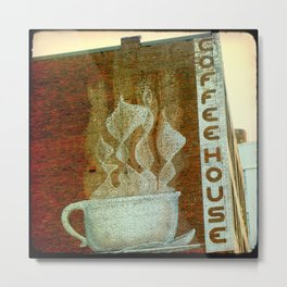 Knoxville Coffeehouse TTV Metal Print
