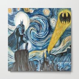 hero starry night Metal Print