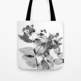 Ghostly Blooms Tote Bag